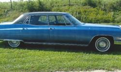 Here is a nice classic 1968 Cadillac Fleetwood, powered by an 8 Cylinder engine with an Automatic transmission, with just 88,000 miles. This beauty has a Blue exterior with a Blue interior. Some featu