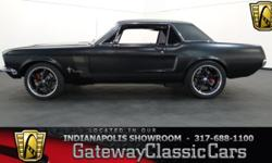 Stock#526NDY This vehicle is located in Carmel, IN. 14 miles north of downtown Indianapolis, IN 317-688-1100 1968 Ford Mustang GT ENGINE: 347 Stroker BODY: 2DR TRANSMISSION: 5-Speed Manual EXTERIOR CO