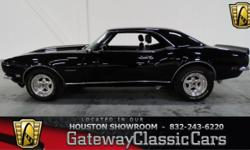 Stock #219HOU Up for sale in the Houston showroom is one bad Camaro, the 1968 Chevrolet Camaro Rally Sport Tribute. Before any official announcement, reports began running during April 1965 within the