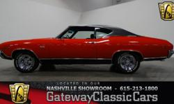 Vehicle is located in LaVergne, TN - just outside Nashville, TN 615-213-1800 1969 Chevrolet Chevelle ENGINE: 355 CID V8 TRANSMISSION: 4-Speed Manual MILEAGE: 12,300 Since BODY STYLE: 2 Door Coupe EXTE