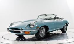 1969 Jaguar XKE Convertible (E-Type Series II) Ferrari-Maserati of Long Island is proud to announce the arrival of this immaculate 1969 Jaguar XKE Convertible. Finished in Robin's Egg Blue over Dark B