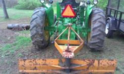 I am selling my 1969 John Deere 1020 (GAS) 2WD tractor as is. I just repainted it last year with a coat of rust inhibitor, 2 coats of primer, 2 coats of paint and 2 coats of clear. Rock shaft rebuilt.