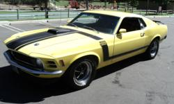 Hello everyone, I am selling my 1970 Boss 302 Mustang, which I have owned now for six years. in the hopes of finding a well intentioned and knowledgeable buyer that appreciates the car and wants to gi