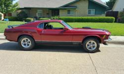 Beautiful 1970 Mustang Mach 1 show car quality for sale by private owner. Newly rebuilt 351 Windsor...bored 30 over, 393 stroker with roller cam...estimated 500 horsepower. This car is loaded with the