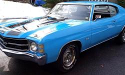 Here is your chance to own an Awesome Chevelle Super Sport tribute for a great deal. This car has all the SS goodies for a perfect reproduction..., SS steering wheel, black vinyl redone seats, nice da