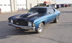 """1972 Chevrolet Chevelle SS Clone, 502V8 - 502 Hp, Demon 850 carburetor, 400 Turbo automatic transmission, Ford 9"""" Detroit locker rear end with 3:70 gears, Moroso trick springs, 4 link aftermarket bars"""