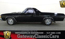 Stock#486NDY This vehicle is located in Carmel, IN. 14 miles north of downtown Indianapolis, IN  1972 Chevrolet El Camino ENGINE: 454 CID V8 BODY: Truck TRANSMISSION: TH400 3-Spd Auto EXTE