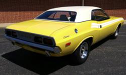 Youre viewing this nice stock original Top Banana yellow (FY1) 1972 Dodge Challenger sport coupe with the ever so reliable 318 V8. This Challenger is believed to be totally original aside from having