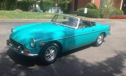 1972 MGB for sale. The graphics will reveal you how good it is The engine runs like a stitching Machine. I was led to believe that it had been reconstructed, however I have no receipts and so on to pr