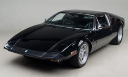 1973 De Tomaso Pantera L VIN: THPNNA05869 Originally sold at Board Ford in Southern California, this Pantera's first two owners were from Los Angles area. As with many Panteras over the years it has b