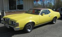 WOW! This 1973 Mercury Cougar is as clean as they come. Driven by a 351 Cleveland V8 engine and an automatic transmission. Re-upholstered interior, rallye wheels, good chrome, runs and drive excellent