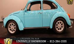 Stock #1056-LOU Vehicle is located in Memphis, IN. 16 miles north of downtown Louisville, off I65. Engine:1600 CC Air Cooled 4 Cylinder Transmission:4 Spd Manual Mileage:2000 (unknown) Body Style:Coup