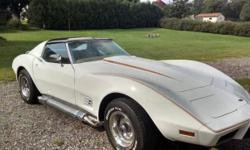 1977 Chevrolet Corvette L82 For Sale in Lewis, Iowa 51544 This 1977 Chevrolet Corvette L82 has matching numbers! This car has been meticulously maintained inside and out. This Vette has a stunning whi