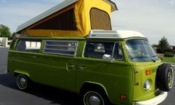 IF YOU HAVE INTEREST IN BUYING PLEASE REPLY WITH YOUR CELL PHONE# AND I CALL OR TEXT BACK FAST!!!1978 Volkswagen Westfalia Camper Bus/Vanagon Westy - The rebuilt 2.0 engine runs great and is very depe