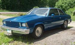Born too late to be a true muscle car, the 78 through 81 Chevy Malibu was the next best thing and a favorite of many drag racers because of the perfect size and weight. This 79 Malibu has the 350 v8 b