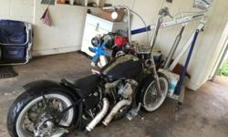 1981 Shovelhead SMS heads Starts everytime Good old school bike One of a kind! Call Alan