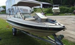 Up for sale is our 16ft bayliner. It has an 85 HP Force engine that ...