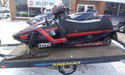 1986 Used Yamaha Phazer Snowmobile - Only $999.00! Starts and runs good. Has a few minor bumps and bruises but is very reliable. Has 4,241 miles. All stock and starts on the 2nd pull. Great sled for u
