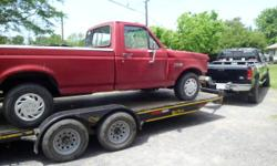 i got this 1988 ford f150 custom 300 6cyl fuel injected auto think only has 102000 miles front end wrecked no front clip parts runs great can run drive around yard to see how trans works  not been sit