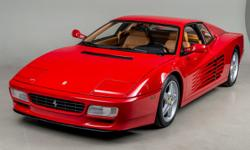 1992 Ferrari 512 TR VIN: ZFFLG40A1N0092009 Imported by Ferrari North America in 1992, this 512 TR was originally sold at Lake Forest Sports Cars in Lake Forest, Illinois on May 14 1992 to Tom Kelley B
