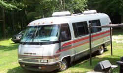 1988 was the last year for the 27ft motorhome's. This was custom made at airstream in 1993 with one other out their. The interior was completely re-done five years ago. Basic layout for motorhom