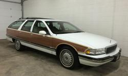 1994 BUICK ROADMASTER ESTATE WAGON ONE OWNER HIGHLY DESIRABLE AND RARE RPO OPTION CODE V92--GRAND TOURING/ HD TRAILER TOWING PACKAGE ONLY 42K MILES 100% AUTOCHECK CERTIFIED 100% CARFAX CERTIFIED 5.7L