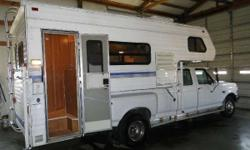 1994 Fleetwood ELKHORN 11X GREAT BUY! COST INDICATES TRUCK CAMPER ONLY! 1994 FLEETWOOD ELKHORN 11X 11 FOOT; FULL BATH/SHOWER; A/C; REFRIGERATOR; STOVE; OVEN; FURNACE; SLEEPS 5; EVERYTHING WORKS; GREAT
