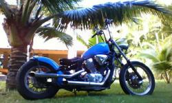 1995 - 600 Custom Built Shadow New Paint Job Bobber Style $2000.00 OBO Call Alan for more information