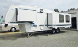 1996 Alpenlite fifth wheel...2 slides...Anniversary Edition...34 feet FREE DELIVERY AND SET-UP WITHIN 50 MILES Alpenlite, built in Yakima, Washington has always been known for quality, durability and