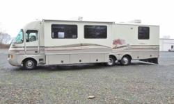 1996 Fleetwood Southwind...35 feet...superslide Ford 460 V8, 77,391 miles DUAL PANE WINDOWS 80 gallon fresh water tank, 50 gallon black tank, 60 gallon gray tank Back-up camera and Power Gear leveling