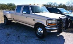 -LRB-512-RRB-948-3430 ext. 614. ACT NOW !!! - Fresh Trade-In. This Ford F-350 is gone to the AUCTION. We are providing WHOLESALE PRICING to the general public on this Vehicle!!! No reasonable offer re