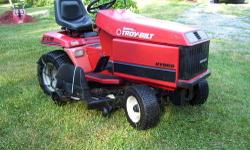 NOT AN mtd clone... BUT Last of the REAL tractors, the GTX18 was approx $6500 new. It is a Kohler 18 HP v twin, hydrostatic, POWER Steering , Power Deck Lift and has the massive Bolens duratrac cast i