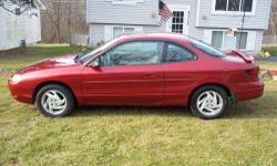 HELLO I HAVE A 1998 FORD ESCORT ZX2 SPORT.. THIS IS A ONE OWNER CAR.. AND ALL MAINTAINCE HAS BEEN TAKEN CARE OF AT THE DEALER.. TIMING BELT WAS REPLACED AT ABOUT 100.000 MILES... THIS CAR HAS ABOUT 12