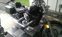 I'm relocating in January and need to sell my motorcycle. It's got a new Kawasaki clutch,cable and the carb was just completely cleaned and serviced at the dealer in Greenville. Both tires are in grea