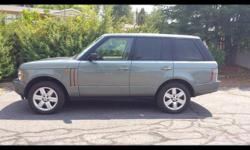 Selling for Parts 2003 Land Rover Range Rover HSE for Parts Selling Perfect condition Land Rover Range Rover for Parts EVERYTHING $3995 For sale is a beautiful 2003 Land Rover Range Rover HSE for Part