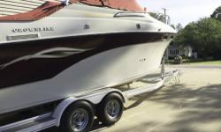 - Stock #079958 - Sharp family cruiser with A/C & Full Camper Canvas Package to enjoy the week-end or longer in comfort...!! Owner says she is easy on gas & rides great..! KEY FEATURES; -1999 MERCRUIS