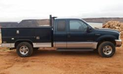 1999 Ford F250 Super Duty. 1999 Ford F250 very responsibility with energy bed in great condition looking for a new home.- 7.3 diesel powerstroke with extra-large turbo engine- Air intake kit- Trailer