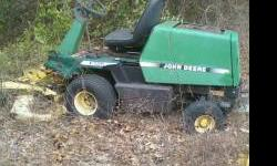 """2- used f725 front mowers for parts. one with 48"""" deck and one with 54"""" deck. one with the 48"""" deck was running but needs a starter bolt. both have alot of hours . any questions call 850-584-8335 or 8"""