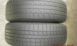 This is a mis-matched pair of 195/65R15 tires for $35.00. One is a KUMHO and the other is a UNIROYAL. If you need them mounted and balanced, it is $5.00 per steel wheel, or $7.50 per alloy wheel. If i