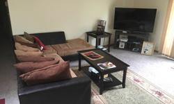 Selling furniture for a 2 bedroom apt( $2500 OBO )Just like new, bought the furniture in December 2015, new couch, kitchen table, Queen bed and twin bed, and dressers, 3 flat screen tv's, 32', 40' and
