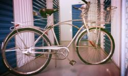 The second bike is A two stroke motorized bicycle cruiser Schwinn frame only 200 dollars