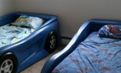 . YES, IT IS STILL AVAILABLE - IF SERIOUSLY INTERESTED - CALL FOR INFO !! (* Batman, Spiderman Bedding, bed mattress, boxspring, foundation, etc, is not consisted of *).  For sale Two Used Little Tike