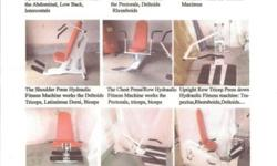 I am selling this excellent quality health club devices with reduced use (exclusive residence owner). Attached are the descriptions and images of the fitness center tools for sale. Safe to make use of