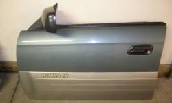 I have for sale the following parts from a 2001 Outback wagon. All parts are in excellent condition. Doors are full with windows, mirrors, window motors, internal circuitry, interior panel, switches o