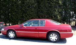 2000 Cadillac Eldorado ESC Coupe Ac, FWD, automatic transmission, abs, cruise, leather interior, power locks, power mirrors, power seat, power windows, tinted glass, tilt. V-8 engine 4.6 litre, Am/Fm/