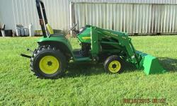 2000 John Deere 4200 HST 4x4 with JD QT Loader, Low Hr 1 Owner 26hp Compact Diesel. Reduced!! John Deere 4200 Hydro Drive Diesel 4x4 with JD QT Loader. Has PS, PTO, 3PT hitch and all standard options.
