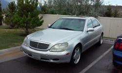 Used 2001 Mercedes-Benz S430 159,000 miles (low miles) VIN # WDBNG70J4YA025538 Sedan Exterior: SILVER Interior: Gray Rating unavailable CITY MPG Rating unavailable HWY MPG Gasoline 8 Cylinder Tr