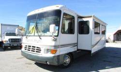 ,,,,Used Year: 2000 Slide Outs: 1Make: Newmar Fuel Type: GasModel: Dutch StarLength (feet): 34 Leveling Jacks Included?: YesMileage:36,000 Awnings: 1Sleeping Capacity:5 Type: Motorized Class AVehicle