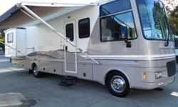 """2000 Southwind 34N Class """"A"""" w/ 2 Slide-outs This is a """"One Owner"""" Garaged Motorhome! Ford Triton V-10 with the Power Platform Chassis (only 31,187 miles) 5.5 Onan Generator with only 17 hrs. Rear Que"""