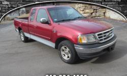 Exterior Color: burgundy, Body: Pickup, Engine: V8 4.60L, Fuel: Gas, Doors: 4